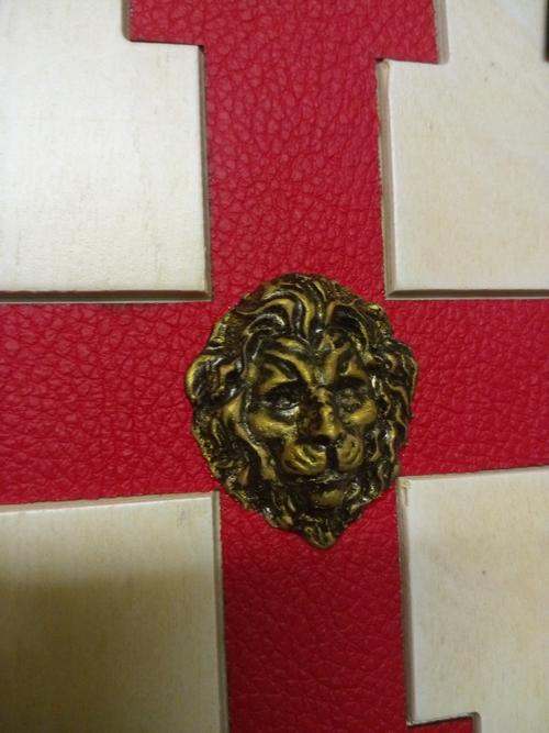 Геральдический щит ордена Тамплиеров